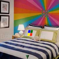 Colorful Rainbow House Escape
