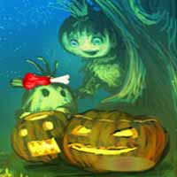 Halloween Pumpkin Girl Escape