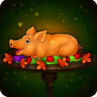 Thanksgiving Peepa Pig Escape