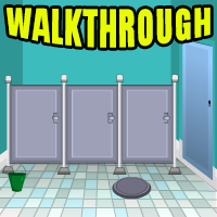 Toilet Room Escape Walkthrough