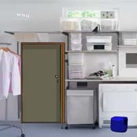 Organized Laundry Room Escape
